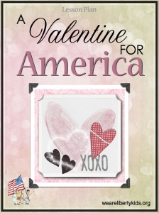 A Valentine for America Lesson Plan