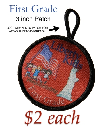 LIBERTY KIDS PATCH FIRST GRADE