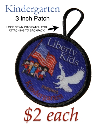 LIBERTY KIDS PATCH KINDERGARTEN